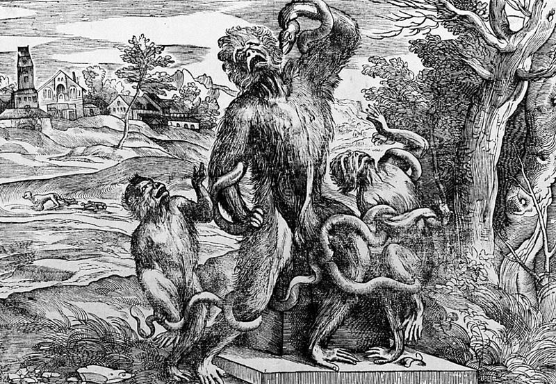 File:Caricature of the Laocoon group as apes.jpg