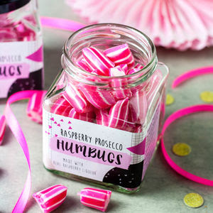 Alcoholic Raspberry Prosecco Humbugs - gifts for mothers
