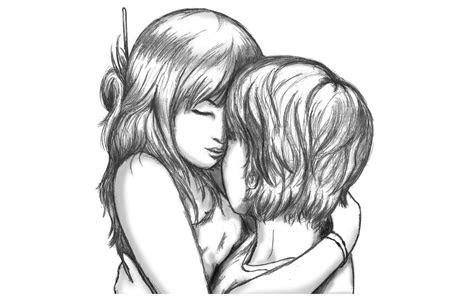 boyfriend  girlfriend drawing  getdrawingscom