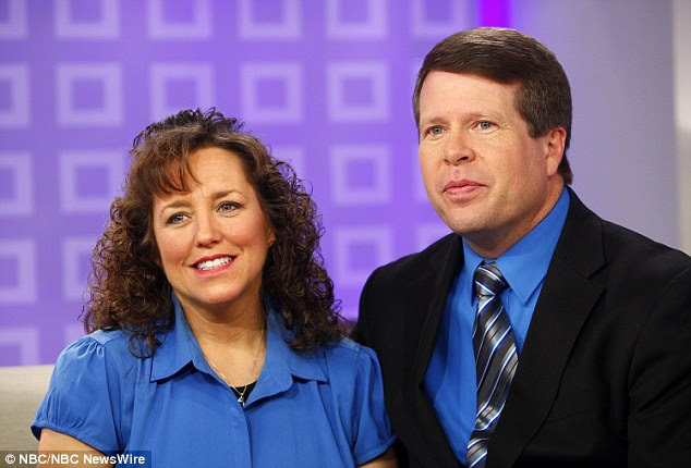 Jim Bob and Michelle Duggar has previously said they are standing by Josh despite revelations of his infidelity, and say they are seeking comfort in their religion