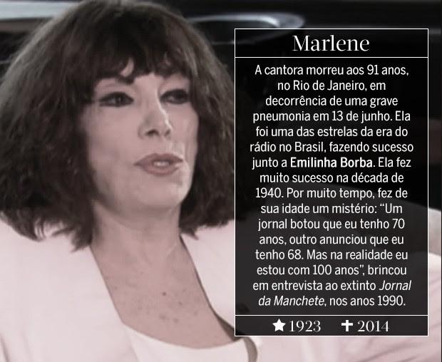 Marlene (Foto: ARTE: EDUARDO GARCIA)