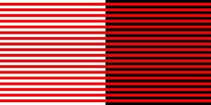 Bezold Effect Illusion