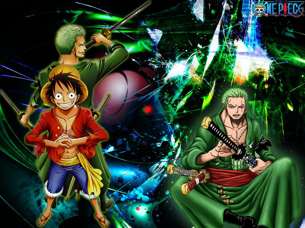 One Piece Wallpaper Luffy And Zoro