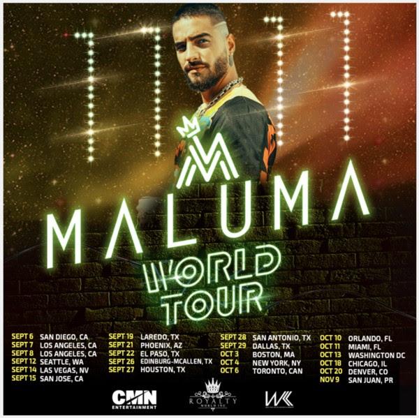 Maluma Tour 2020.Babymetal World Tour 2019 Ilmu Pengetahuan 2
