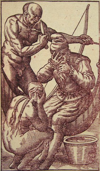 File:Tearful salutations in Histoire d un voyage fait au Bresil 1580.jpg