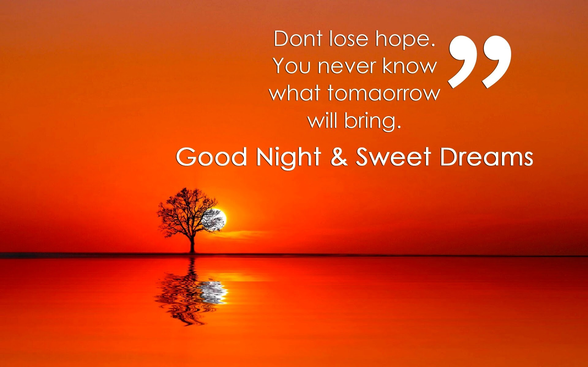 Super Good Night Quote Hd Wallpapers Hd Wallpapers