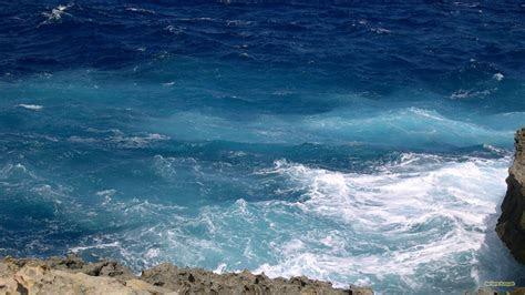 Blue ocean waves   Barbaras HD Wallpapers