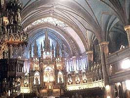 Notre Dame in Montreal.