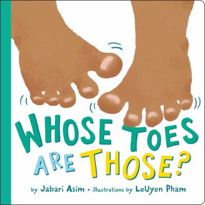 Cover image for Whose toes are those?