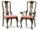 Reeded Queen Anne Amish Dining Room Chairs | Amish Dining Room ...