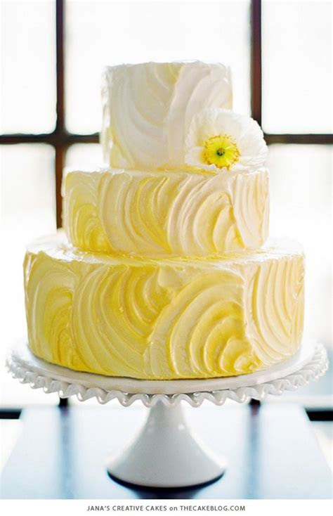 Wedding Cake Colors   Mellow Yellow   Marrying Later in Life