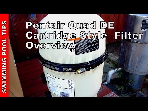 Swimming Pool Tips Amp Reviews Pentair Quad D E 174 Cartridge