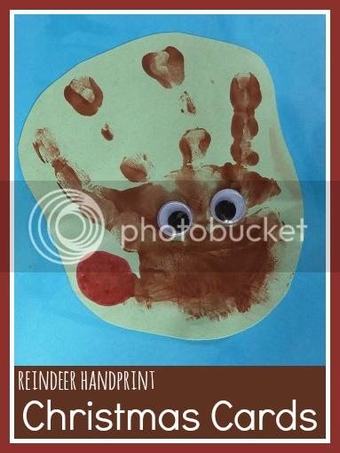 Jennifer 39 s little world blog parenting craft and travel for Reindeer christmas card craft