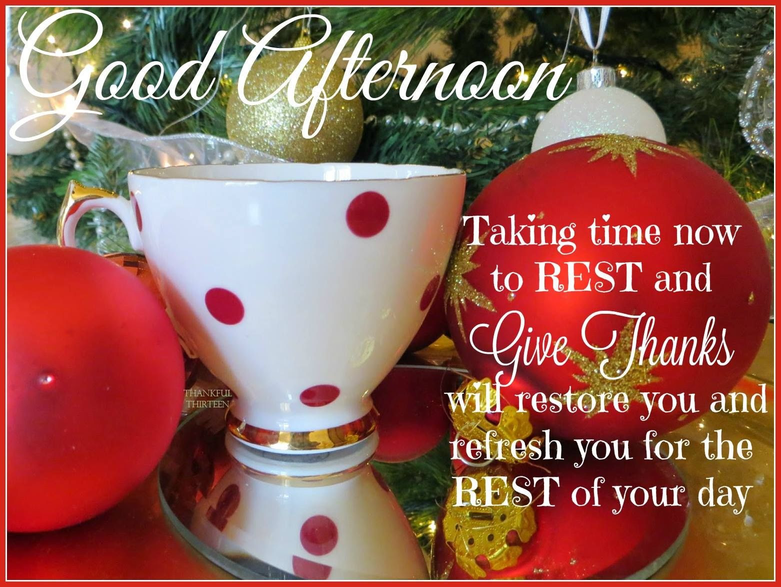 Christmas Good Afternoon Quote Pictures Photos And Images For