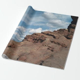 North Window Arch Wrapping Paper