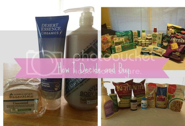 How I decide and buy healthy, non-toxic, organic products