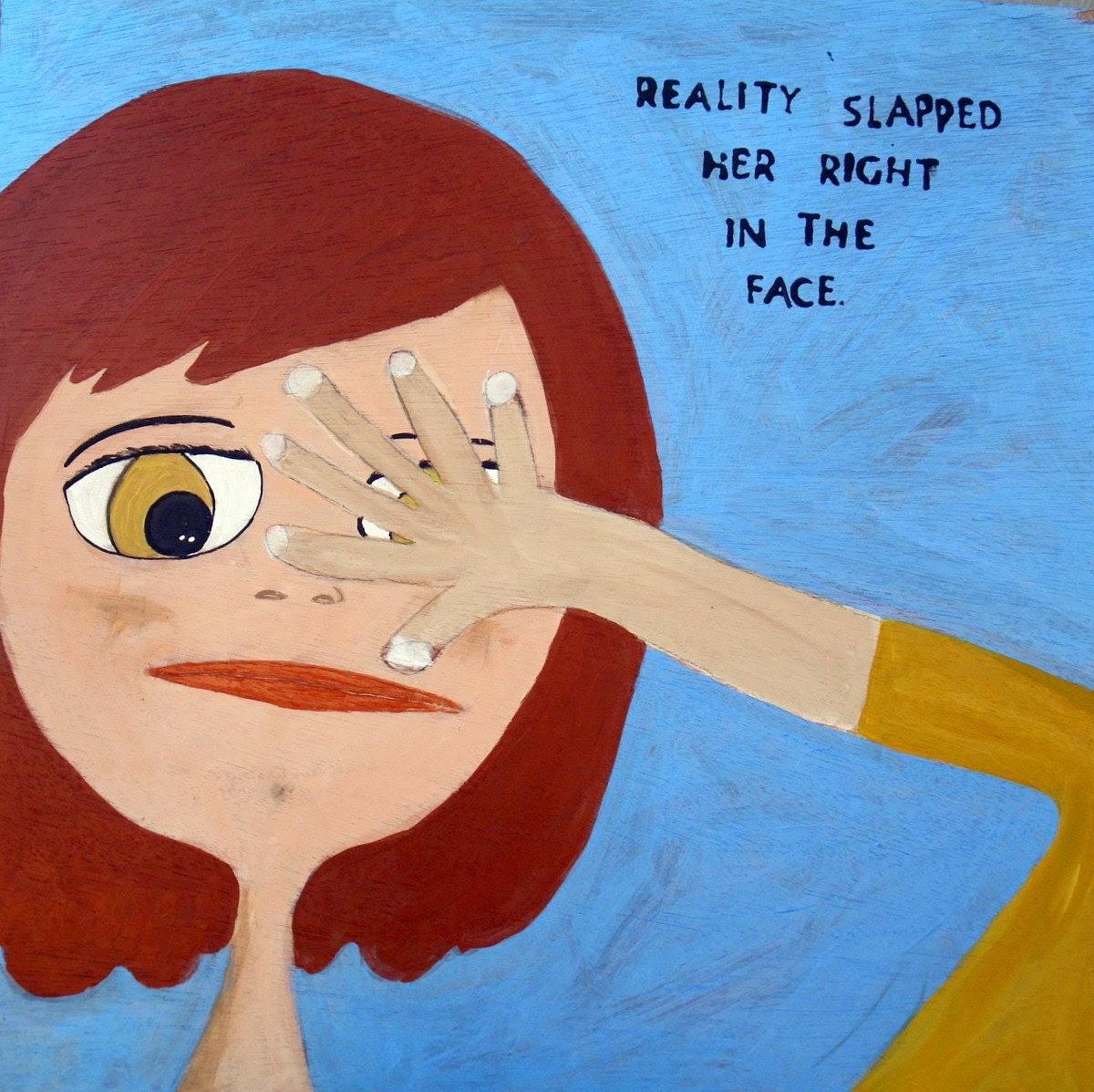 Naive....An Original Painting