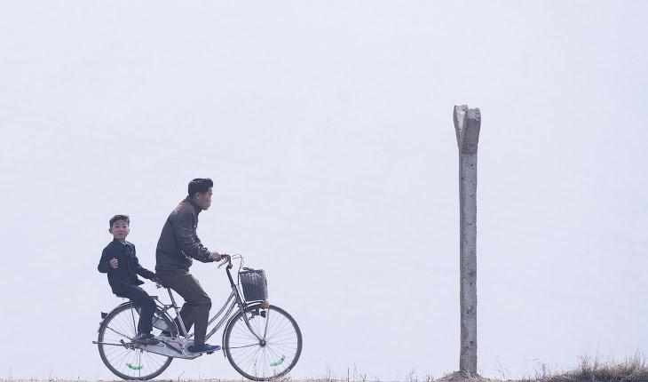 Граница Северной Кореи со стороны Китая