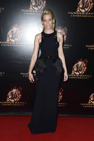 Elizabeth Banks - «The Hunger Games: Catching Fire 'Premieres à Paris