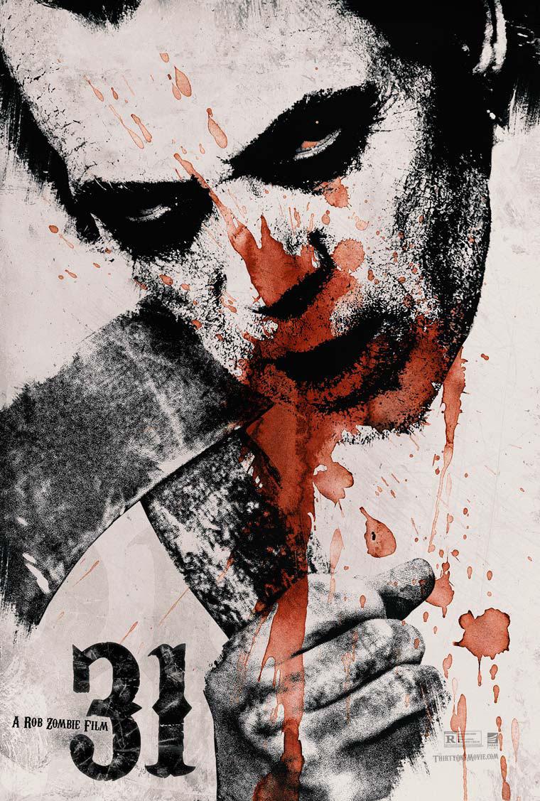 Risultati immagini per 31 rob zombie poster