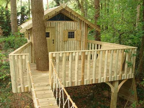 Simple Tree House Ideas That Can Be Easy For You To Create
