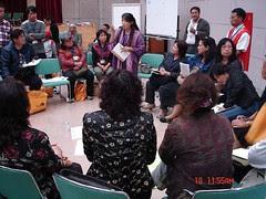 小組討論接下來的行動方向