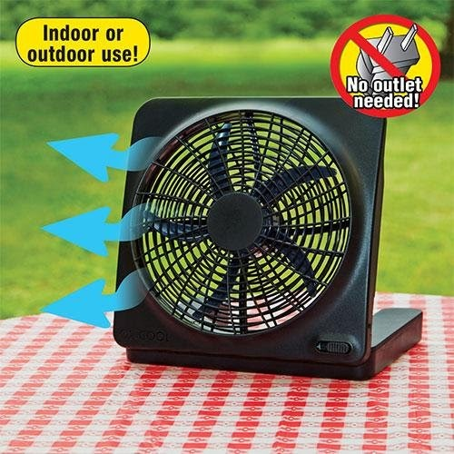 Battery Operated Fans O2 Cool Model 1054 10 Quot Indoor