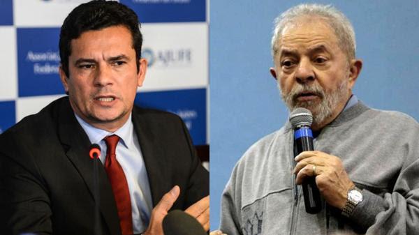 """Sergio Moro y Lula da Silva:el juezanticorrupción y uno de los procesados por el""""petrolao"""""""