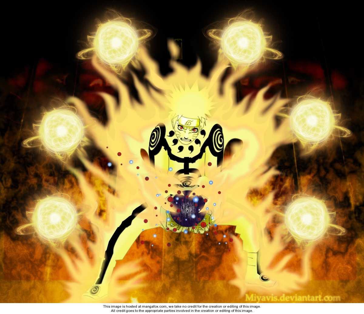 Naruto Nine Tails Chakra Mode Uzumaki Naruto Shippuuden Foto 25696637 Fanpop