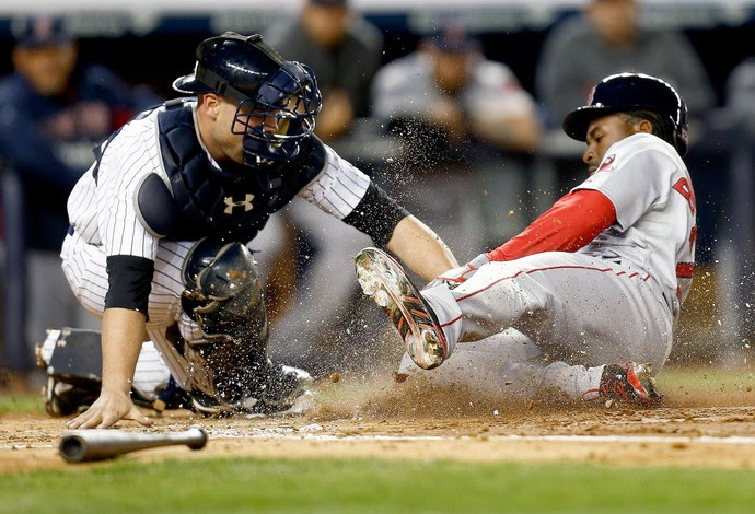 Red Sox x Yankees baseball (Foto: Getty Images)