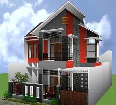 contoh desain rumah tingkat kecil - feed news indonesia