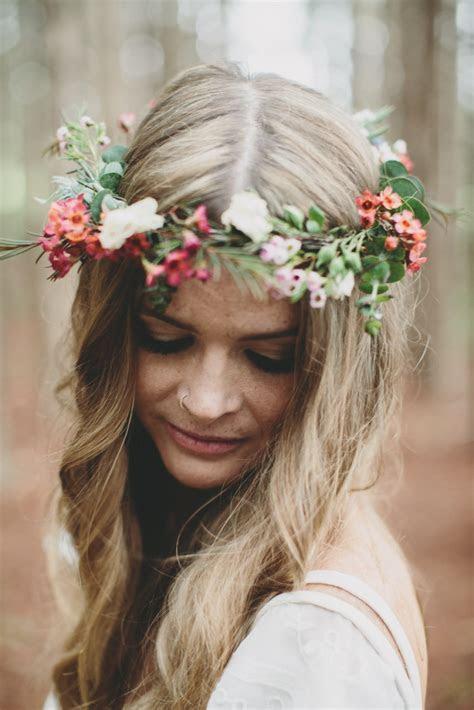 Australian native wax flower crown   nouba.com.au