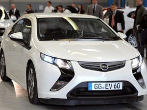 Opel Ampera (Foto: AFP)
