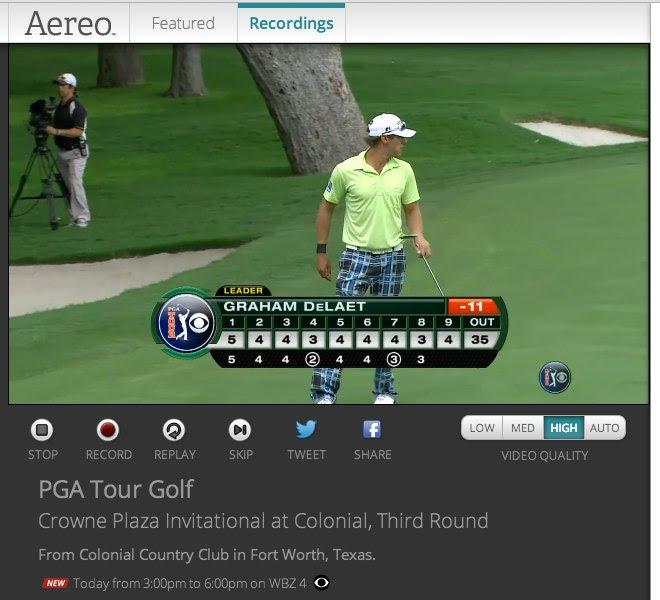 Aereo: Golf