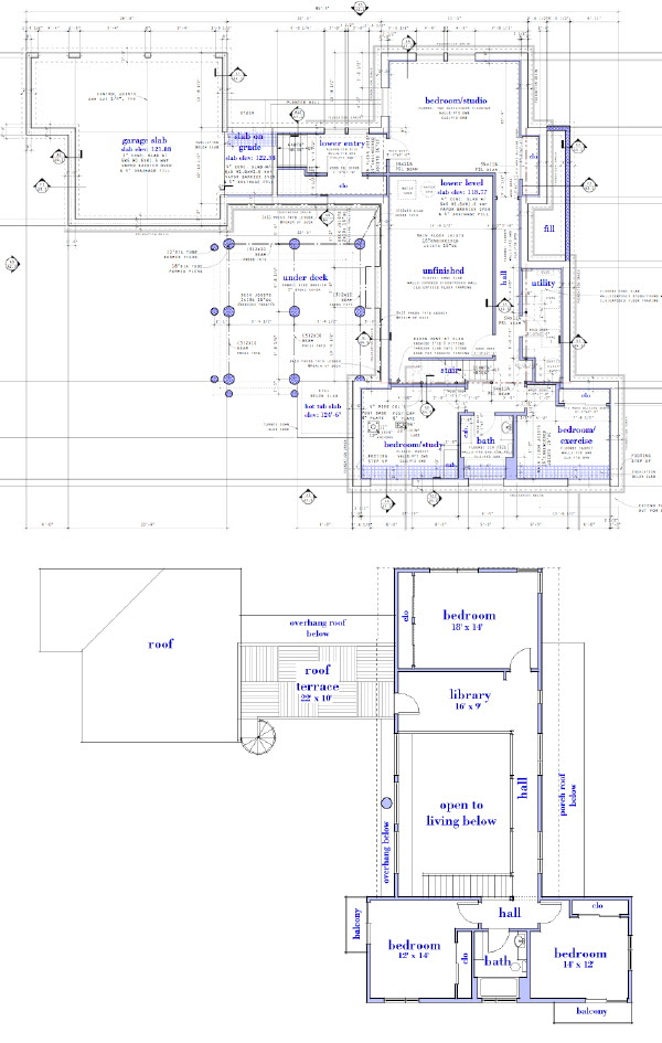 Modern House Plans by Gregory La Vardera Architect: 0751 RS House ...