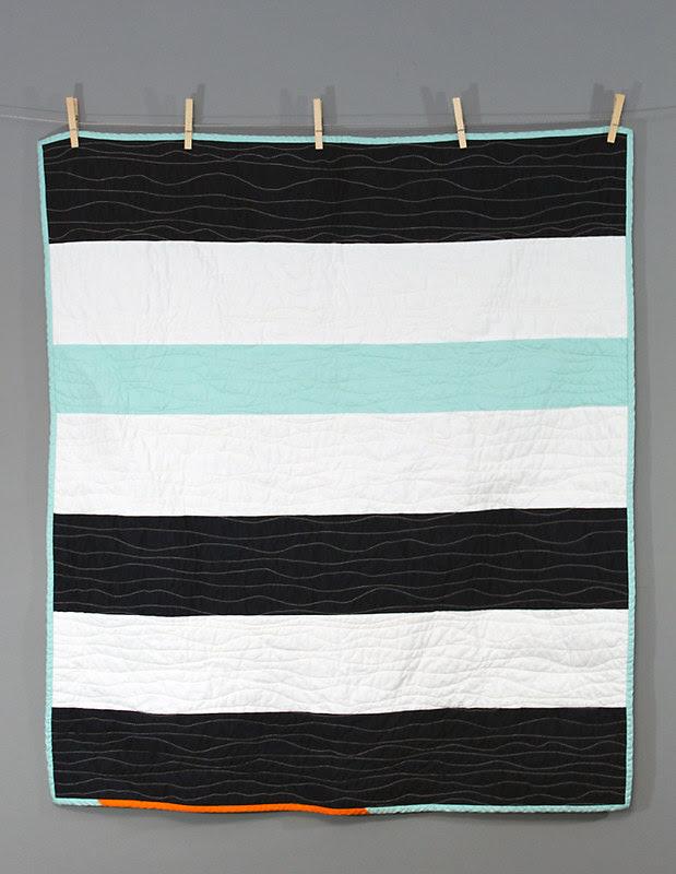 Nautical Stripe Quilt