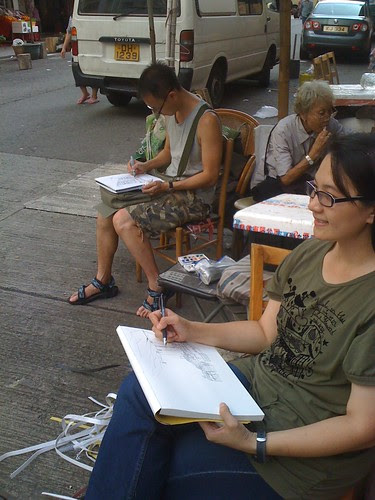 New fellow urbansketchers from HK