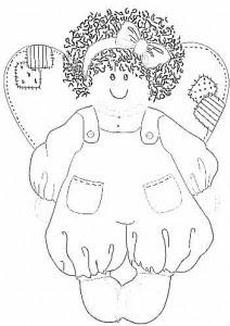 Desenhos de Anjinhos