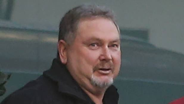 Stephen Phillip Long after leaving the Invercargill District Court on Friday morning.
