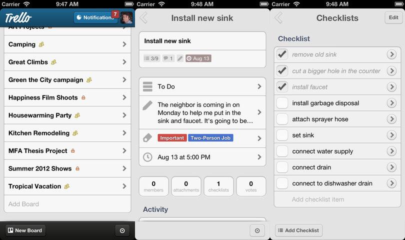 trello1 8 aplicaciones de iPhone que todo diseñador debe poseer