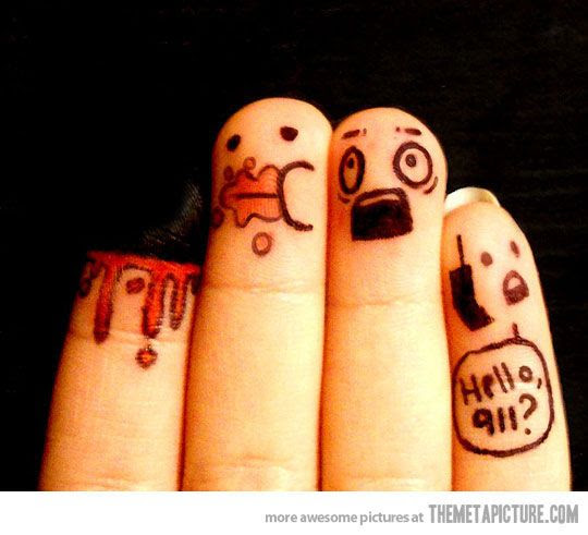I love finger and toe people... Francois.