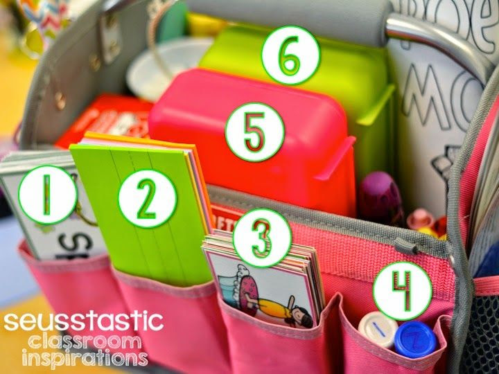 Bright Idea for Guided Reading/Small Group Table - Seusstastic Classroom Inspirations