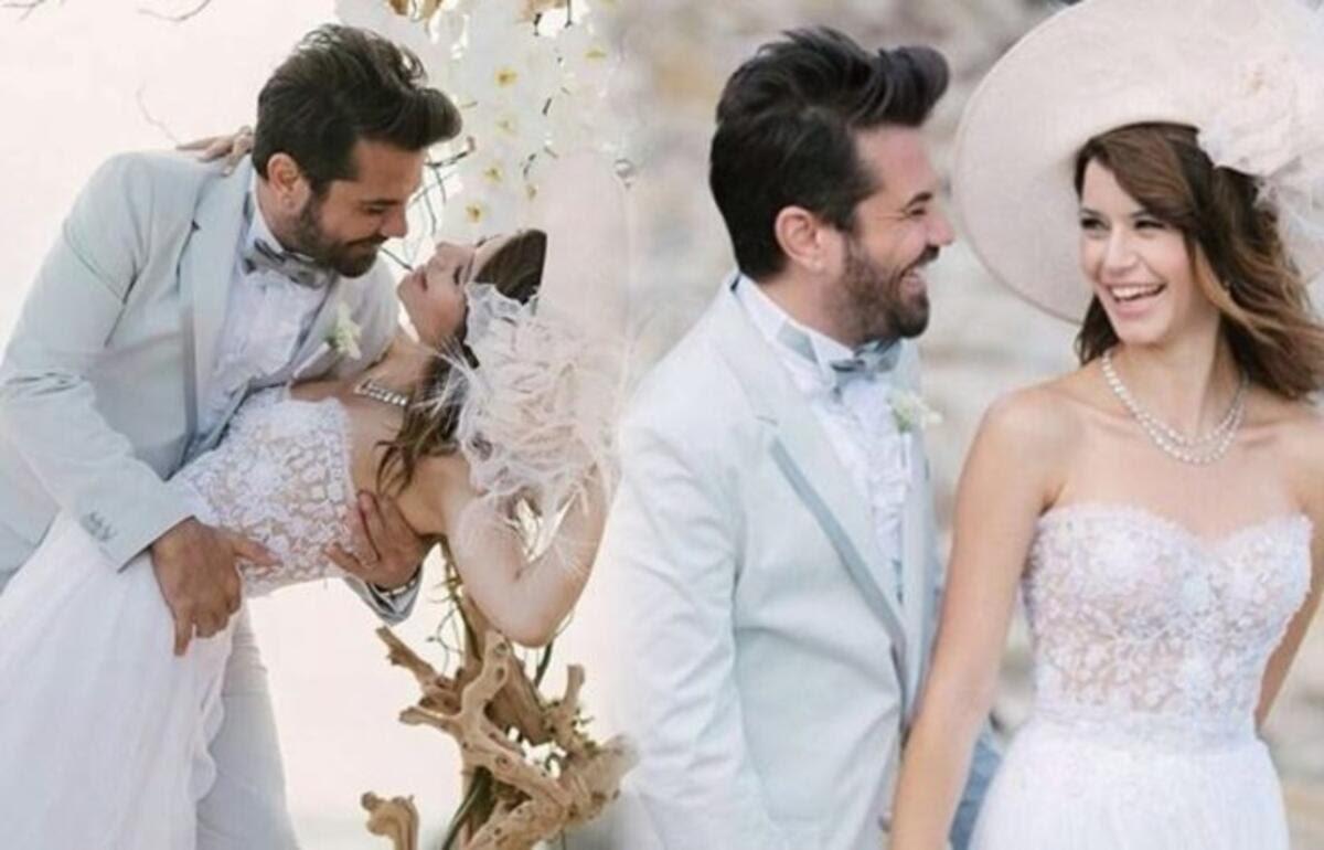 Eminent Turkish actress Beren Saat and her husband Kenan ...