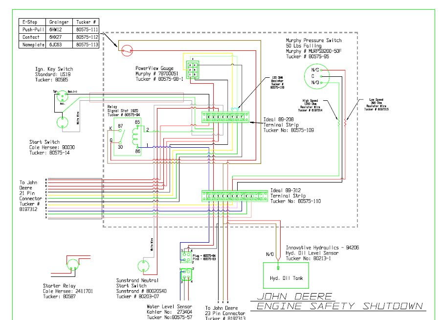 John Deere 318 Ignition Switch Wiring Diagram
