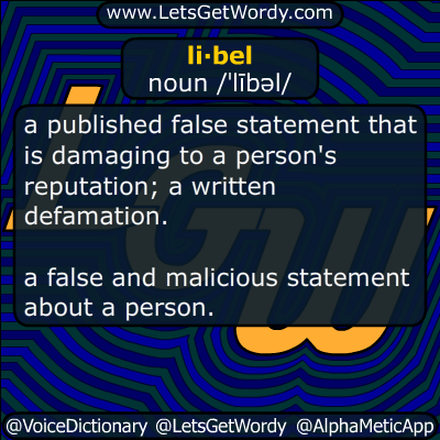 libel 04/06/2016 GFX Definition