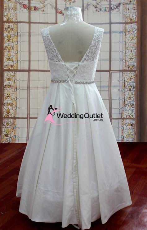 aubree beach simple lace wedding dress weddingoutletcomau