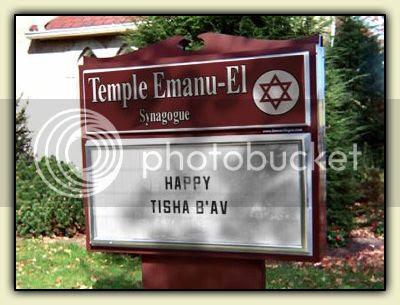 Happy Tisha b'Av!