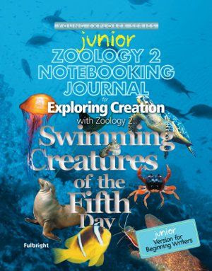 Apologia Zoology 2 junior notebooking journal