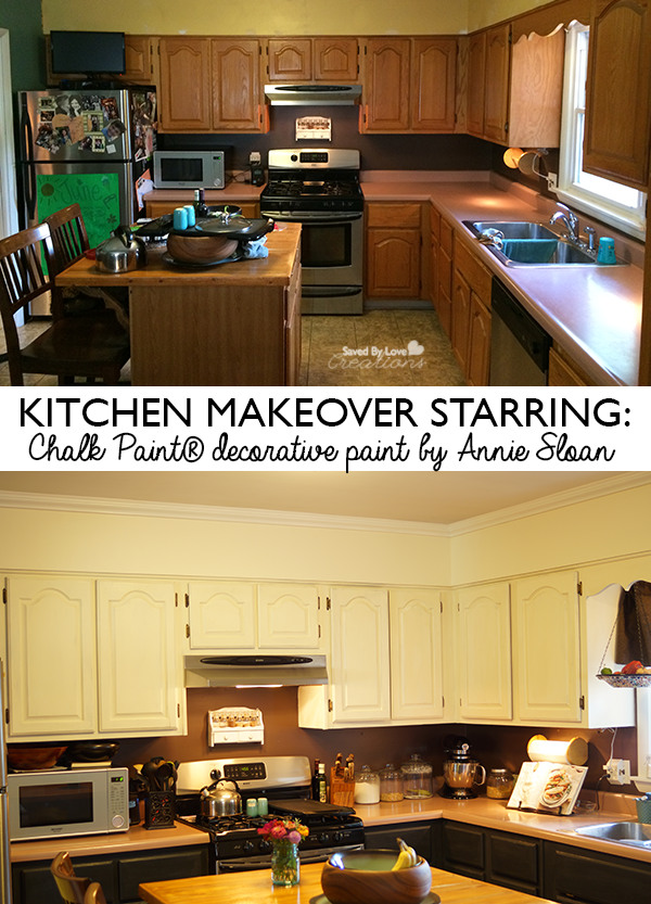 Kitchen Cabinet Makeover With Chalk Paint® decorative ...