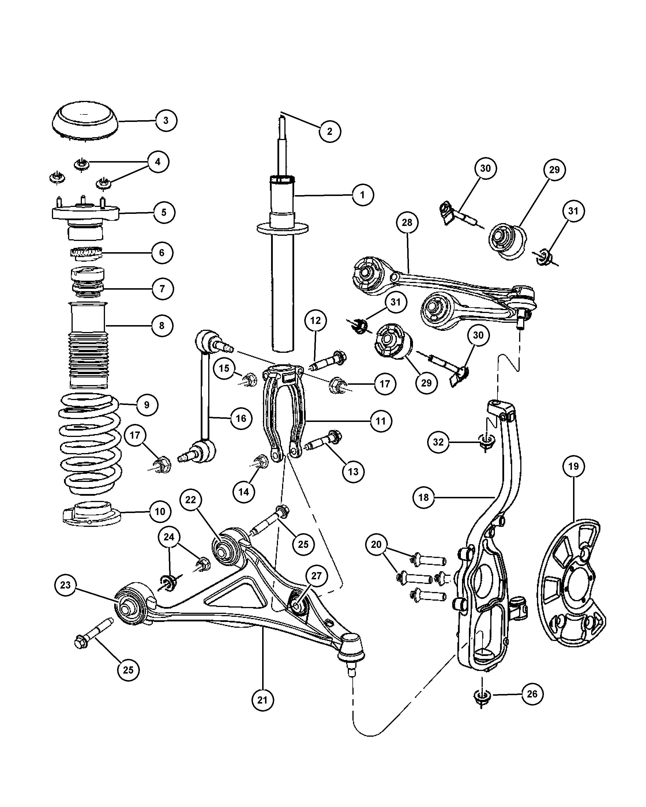 2002 Chrysler 300m Suspension Diagram Wiring Diagrams Word Note See Note See Romaontheroad It